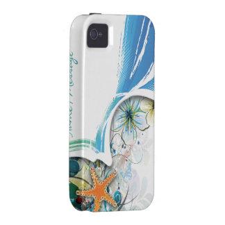 Cas de Coque-Compagnon de l art abstrait 30 iPhone 4 Case