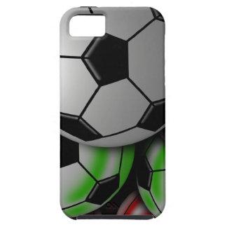 Cas de Coque-Compagnon d'Iphone 5 de ballon de foo iPhone 5 Case