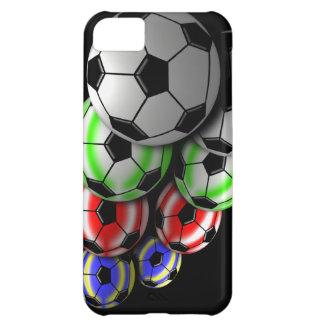 Cas de Coque-Compagnon d'Iphone 5 de ballon de foo Coque iPhone 5C