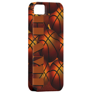 Cas de Coque-Compagnon d'Iphone 5 de basket-ball d