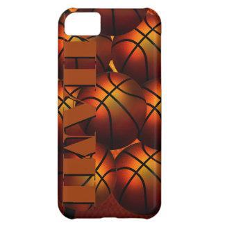 Cas de Coque-Compagnon d'Iphone 5 de basket-ball d Coque iPhone 5C