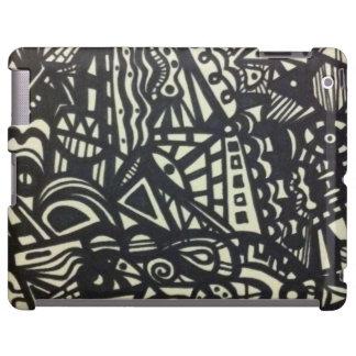 cas de couverture de labyrinthe d'iPad Coque iPad