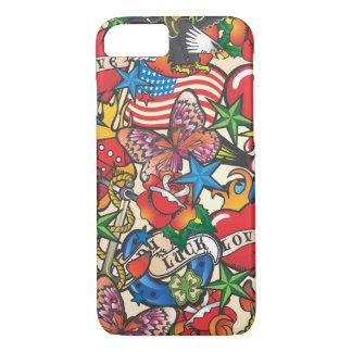 Cas de couverture de téléphone portable de coque iPhone 7