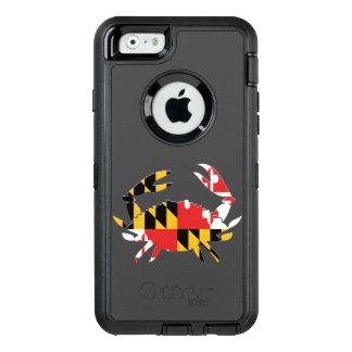 Cas de crabe de DM Coque OtterBox iPhone 6/6s