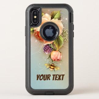 Cas de défenseur de l'iPhone X d'OtterBox Apple