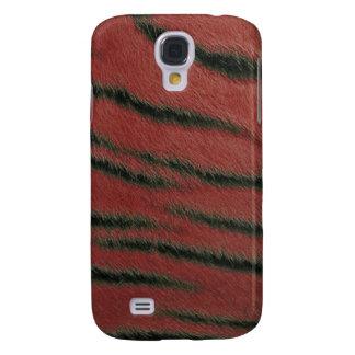 cas de l iPhone 3G - fourrure de tigre - écarlate