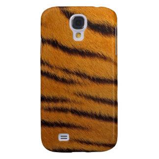 cas de l iPhone 3G - fourrure de tigre - orange