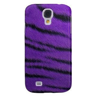 cas de l iPhone 3G - fourrure de tigre - pourpre