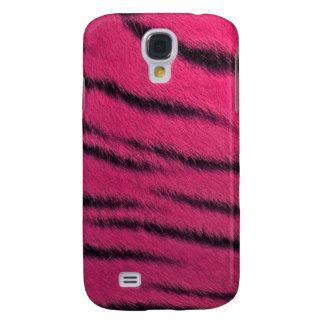 cas de l iPhone 3G - fourrure de tigre - rose