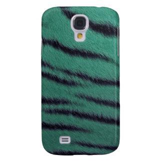 cas de l iPhone 3G - fourrure de tigre - vert