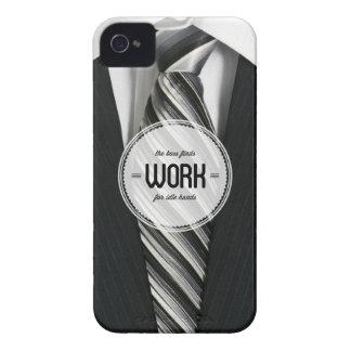 Cas de l iPhone 4 4S d humour de bureau de mains o Étuis iPhone 4