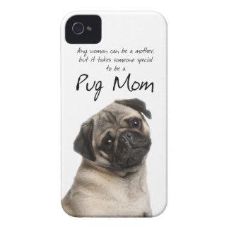 Cas de l iPhone 4 4S de maman de carlin Coques Case-Mate iPhone 4