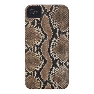 Cas de l iPhone 4 d impression de peau de serpent Coques iPhone 4