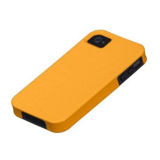 Cas de l iPhone 4 de peau d orange iPhone 4 Case