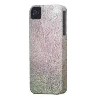 Cas de l iphone 4 de peau de fourrure d ours blanc coque iPhone 4 Case-Mate
