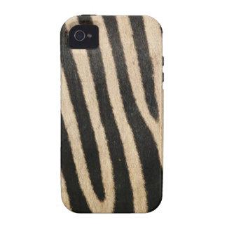 Cas de l iphone 4 de peau de zèbre coques Case-Mate iPhone 4