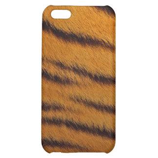 cas de l iPhone 4 - fourrure de tigre - orange