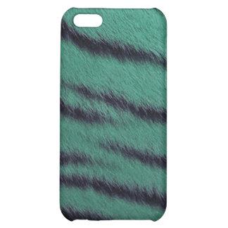 cas de l iPhone 4 - fourrure de tigre - vert