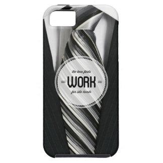 Cas de l iPhone 5 d humour de bureau de mains oisi iPhone 5 Case