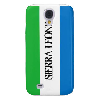 Cas de l'iPhone 3GS de drapeau de Sierra Leone Coque Galaxy S4