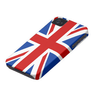 Cas de l'iPhone 4/4S de drapeau d'Union Jack Coque iPhone 4 Case-Mate