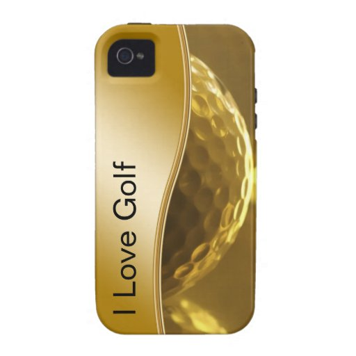 Cas de l'iPhone 4 de golf Coque iPhone 4/4S