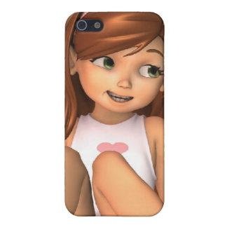 Cas de l'iPhone 4 de Sadie de fête des pères iPhone 5 Case