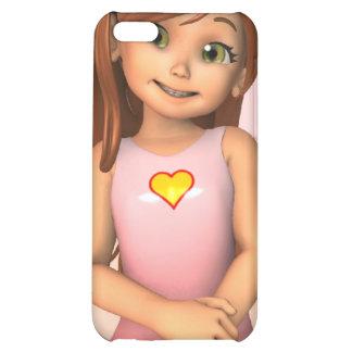 Cas de l'iPhone 4 de Sadie de jour de mères