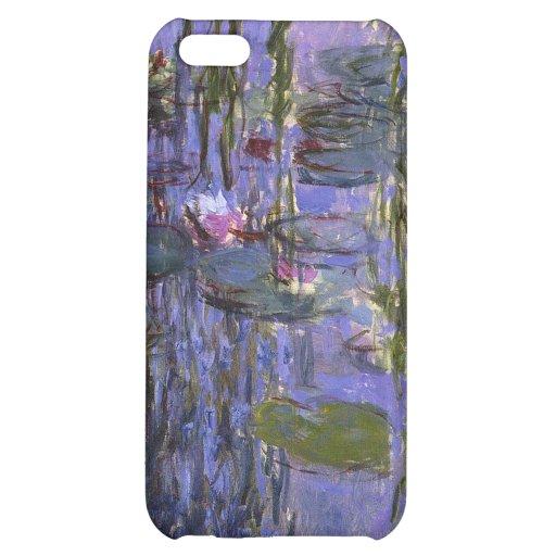cas de l'iPhone 4 - l'eau Lillies Coque Pour iPhone 5C