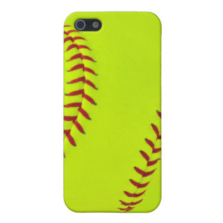 Cas de l'iPhone 5/5s du base-ball de filles Étui iPhone 5