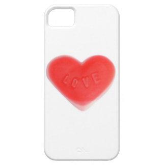 Cas de l'iPhone 5 d'amoureux à peine là (vertical)