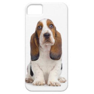 Cas de l'iPhone 5 de chiot de Basset Hound Coque iPhone 5 Case-Mate