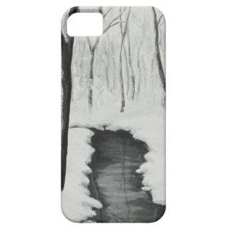 Cas de l'iPhone 5 de courant de forêt d'hiver Coques Case-Mate iPhone 5