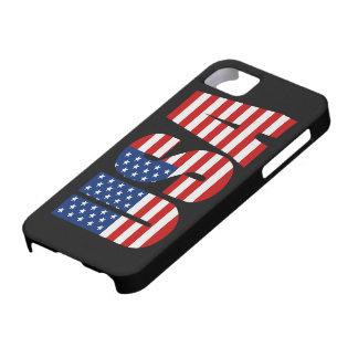 Cas de l'iPhone 5 de drapeau américain des Etats-U