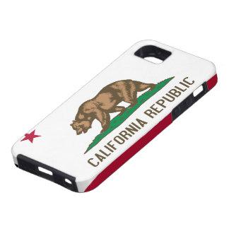 Cas de l'iPhone 5 de drapeau de la Californie Coques iPhone 5