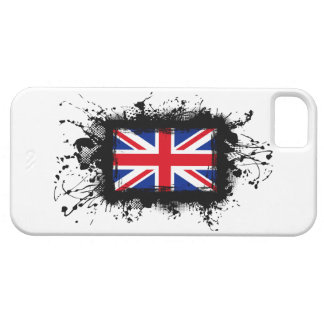 Cas de l'iPhone 5 de drapeau du Royaume-Uni Coque iPhone 5 Case-Mate