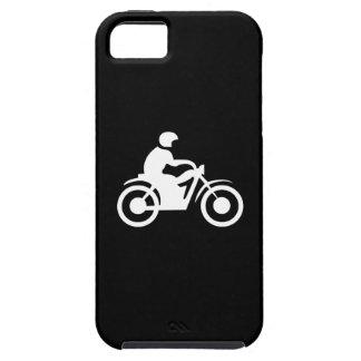 Cas de l'iPhone 5 de pictogramme de moto Coques iPhone 5