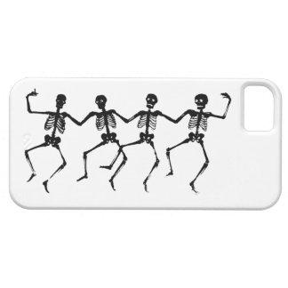 Cas de l'iPhone 5 de squelettes de danse Coques iPhone 5 Case-Mate