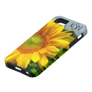 Cas de l'iPhone 5 de tournesol - customisé Étuis iPhone 5