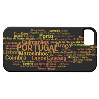 Cas de l'iPhone 5 du PORTUGAL Coque Barely There iPhone 5