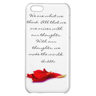Cas de l'iPhone 5C de citation de Bouddha du monde Coque iPhone 5C