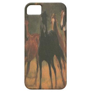 Cas de l'iPhone 5G de chevaux sauvages iPhone 5 Case