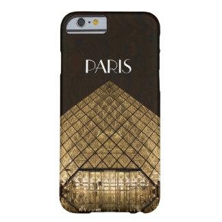 Cas de l'iPhone 6/6S de pyramide de Louvre à peine Coque Barely There iPhone 6
