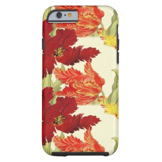 Cas de l'iPhone 6/6s de tulipes Coque Tough iPhone 6