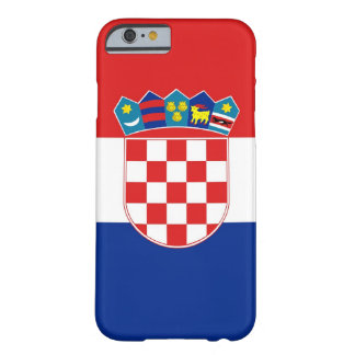 cas de l'iPhone 6 avec le drapeau de la Croatie