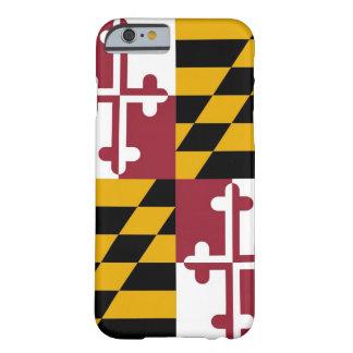 cas de l'iPhone 6 avec le drapeau du Maryland Coque iPhone 6 Barely There