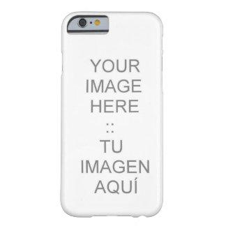 cas de l'iPhone 6 avec personnalisable à peine là Coque iPhone 6 Barely There