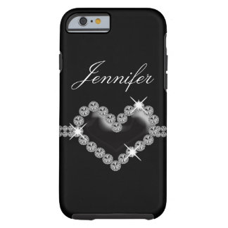 Cas de l'iPhone 6 de bijou de Faux Coque Tough iPhone 6