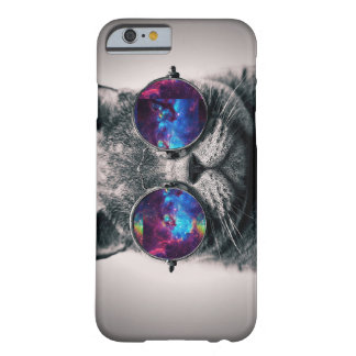 Cas de l'iPhone 6 de chat de galaxie Coque iPhone 6 Barely There