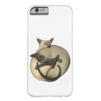 Cas de l'iPhone 6 de chats siamois de Yin Yang Coque Barely There iPhone 6